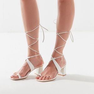 White urban outfitters heels!